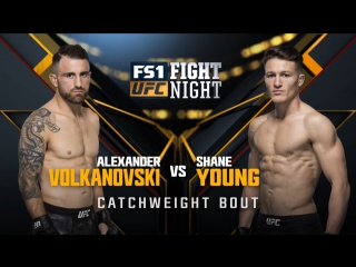 Fight Night Sydney A Volkanovski - S Young