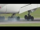 Посадка #Emirates #Airbus #A380