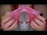ASMR Gel Bead Mask Blue Yeti Massage Mesh Stroking