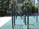 На территории базы «Крым-спорт» появилась площадка для людей с ограниченными возможностями