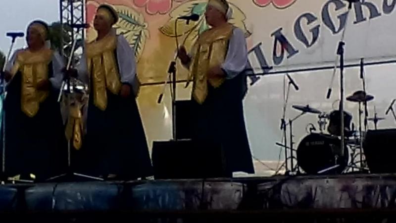 Ой, не веточка черешни Всероссийская Спасская ярмарка в Елабуге 5 августа 2017 года