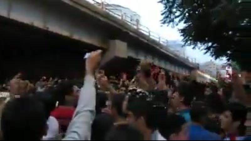Tabriz. Yaşasın Azərbaycan! İRAN-İRAN