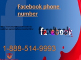 Instant help from Facebook phone number 1-888-514-9993