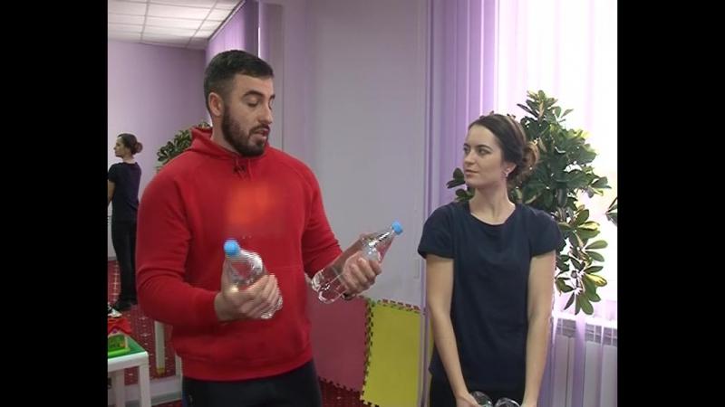 Здоровые новости: Упражнения с бутылками