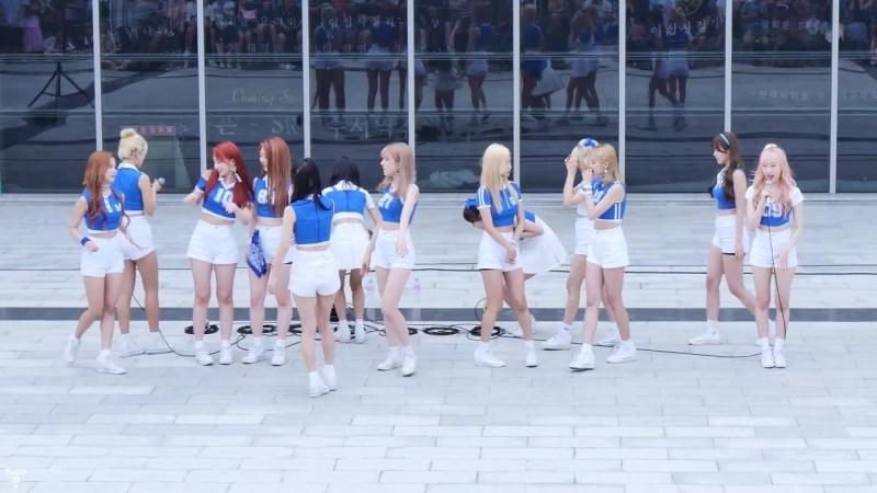 [4K] 170716 우주소녀(WJSN) 전체 - 입장인사 @게릴라공연(SRT수서역)-직캠 By 쵸리(Chori)