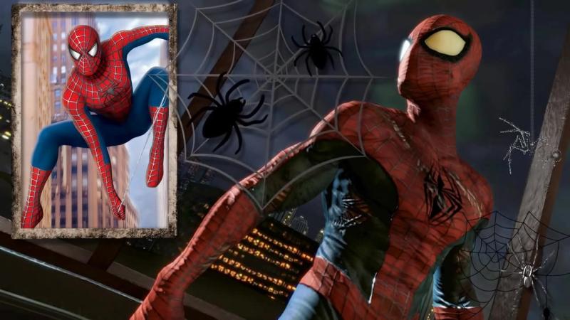 Проект ProShow Producer Человек паук, футаж, видеомонтаж