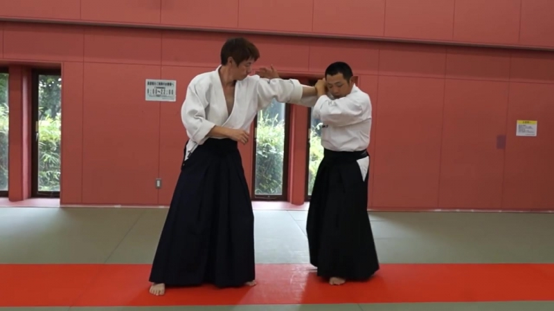 Ju Jutsu.Техника Такумакай Дайто Рю Айки Дзю Дзюцу.Урок от Ямомото сэнсэя - 7.