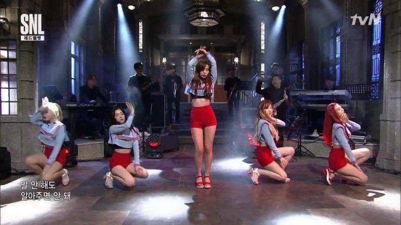 170722 Red Velvet - Red Flavor @ tvN SNL Korea 9