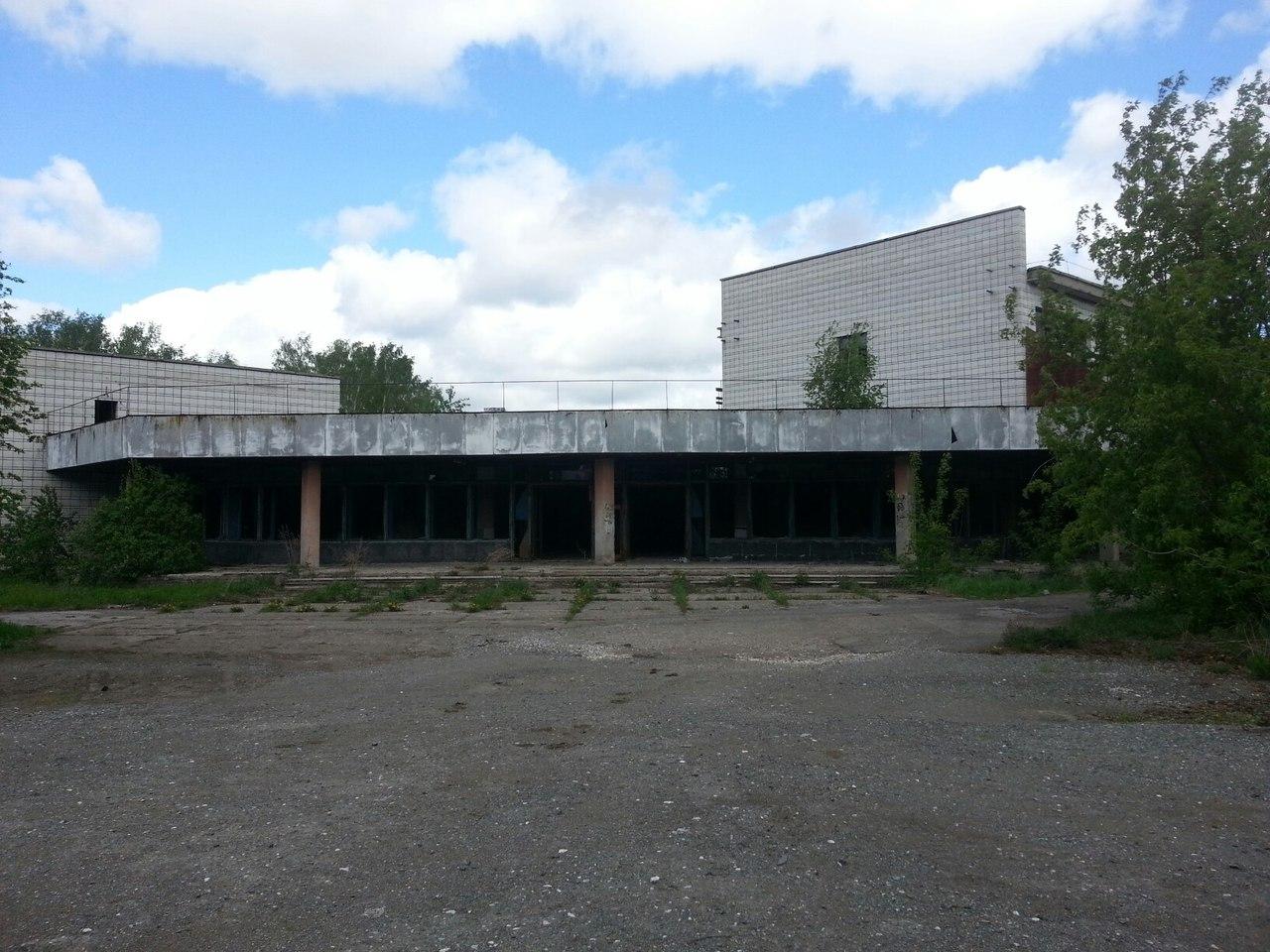Столовая и общежитие под Новосибирском
