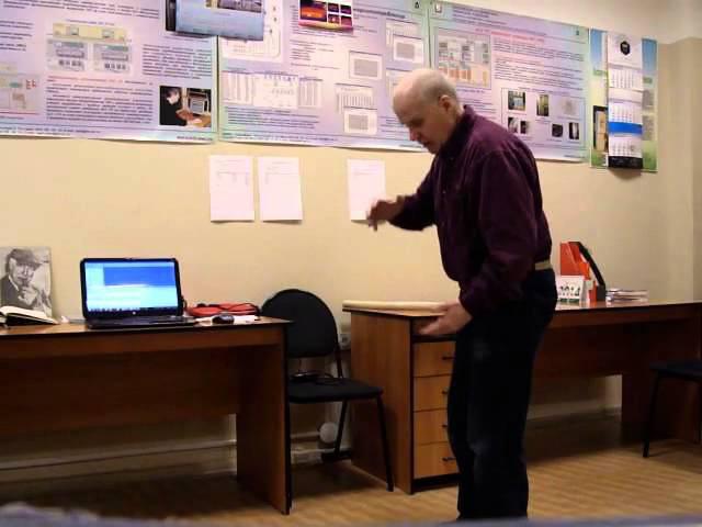 Основы спиральной гимнастики по Е.Близееву (демонстрирует И. Огородников)