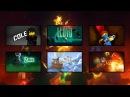 Lego Ninjago All Intros Season 1-7 HD