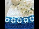 МК.Детская юбка крючком.Часть1. Crochet flotter 3D. Blume häckeln 3D Motiv