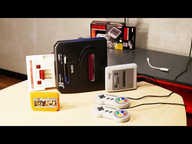 Обзор игровой приставки Super Nintendo Classic Mini