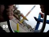 GoPro. Air Race Attraction, Gorky Park, Kharkov. Аттракцион АЙР РЕЙС