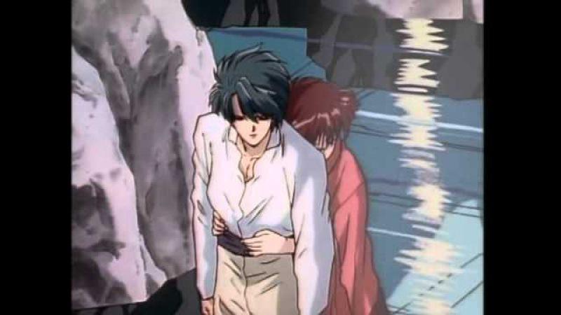 Миака и Тамахоме Лента в волосах