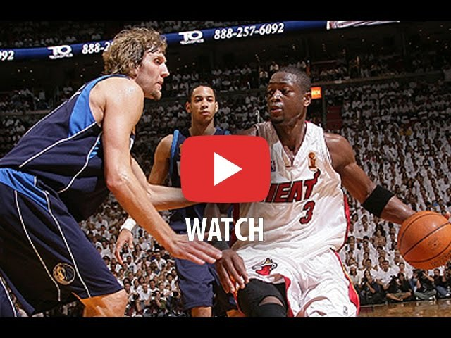 NBA Finals 2006. Dallas Mavericks @ Miami Heat. Game 5. Wade 43 pts, Shaq 18 pts. Full game.