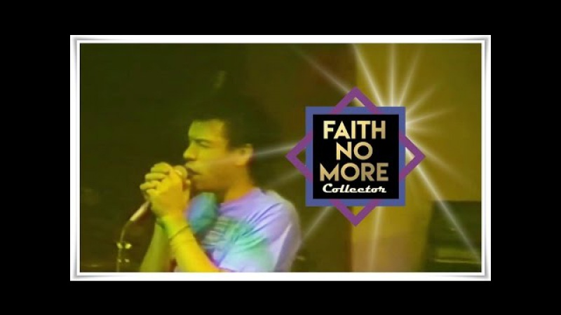 Faith No More (w/ Chuck Mosley) - Live at The I-Beam - 1986 | FNM Collector