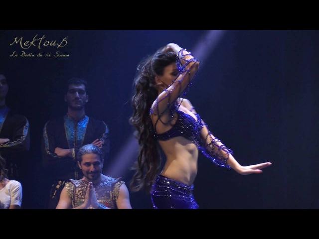 Anastasia Chernovskaya, La cérémonie du mariage, Mektoub Bellydance Show produit par Aïda