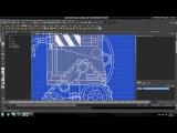 Tutorial Recreating Pixar's Wall-e in High Poly using Maya 2012 Part 1-1
