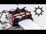 LEGO Telegraph  Printer Setup and Calibration