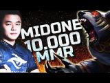 MidOne 10.000 MMR - First 10k MMR Player in SEA Dota 2