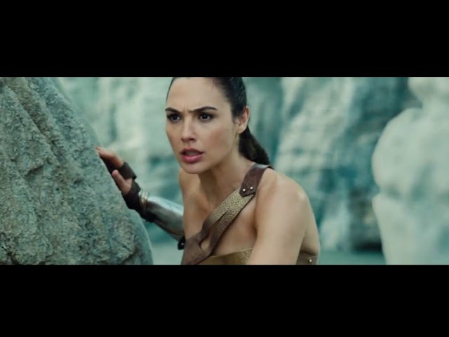 БИТВА НА ПЛЯЖЕ АМАЗОНОК. ЧУДО-ЖЕНЩИНА. THE BATTLE ON THE BEACH OF AMAZON. WONDER WOMAN