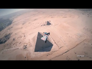 Wingsuit Flight Over the Pyramids of Giza | Xtreme Collxtion