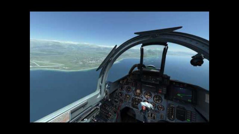 Тест физики Су-27 в DCS World 1.5