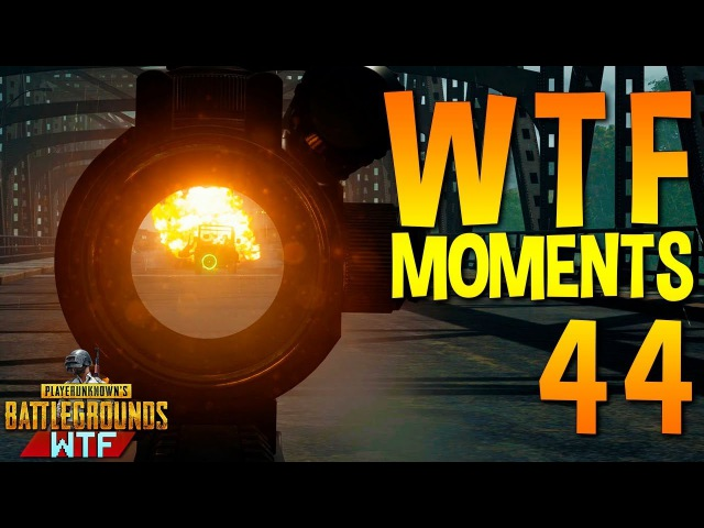 PUBG WTF Funny Moments Highlights Ep 44 (playerunknown's battlegrounds Plays)
