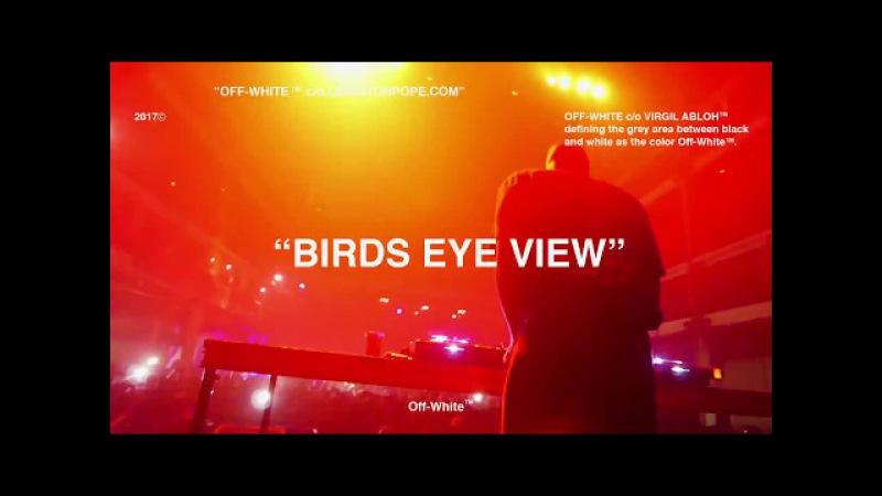 Virgil Abloh opening set BIRDS EYE VIEW Tour Terminal 5 SOLD OUT