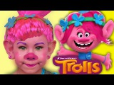 Learn colors with Baby Songs Funny Trolls Magic Transform Finger Family Song Nursery Rhymes Children
