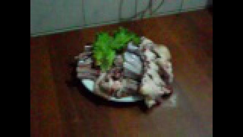 Самаркандский жиз-биз жаренная баранина 2012 / Samarkand cuisine - Jizbiz dish