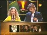 Наталия Орейро и Факундо Арана на премии clarin