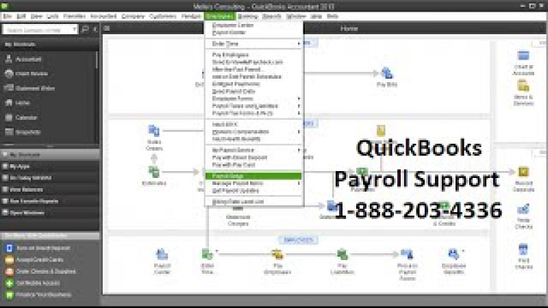 QuickBooks Payroll Support, Call 1-888-203-4336