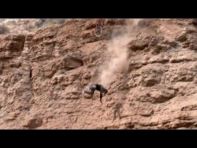 What You Saw vs. What He Saw! Rampage Crash (2015) Nicoli Rogatkin EPIC crash, and Finish!