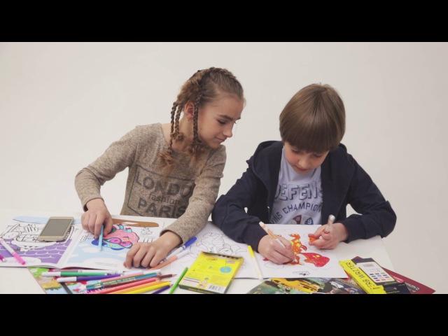 Devar kids - розмальовки майбутього