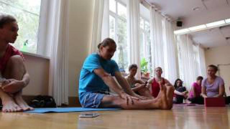 Петри Ряйсянен. Аштанга Йога. Petri Raisаnen. Ashtanga Yoga Workshop.