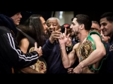 Keith Thurman - Danny Garcia Weigh In Face Off