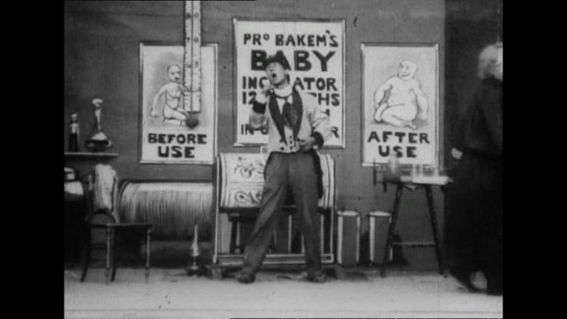 36 The over-incubated baby (Robert W.Paul, 1901)