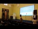 Ученица Гимназии 1538 Алина Сулиманова с финальной песней на конкурсе Таланты России на конкурсе IT репортёр