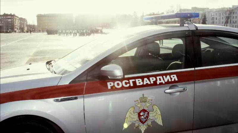 Росгвардия приняла участие в общегарнизонном строевом смотре на площади Куйбышева в Самаре 16.11.17