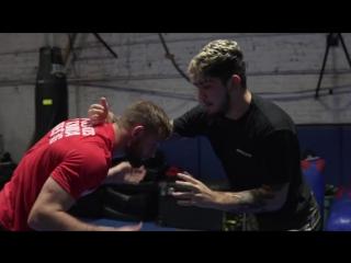 Dillon danis training with 2x us open  2x ncaa champion david taylor