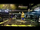 Школа бокса Good Old Boxing - Тренировка (05.01.17)
