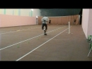 Тренировка по скоростному слалому