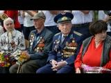 Молодая Гвардия Донбасса  в почетном карауле на торжественном митинге в Сквере Советской армии,  приуроченный 74 ой годовщине  о