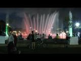 Светомузыкальный фонтан в Парке Горького