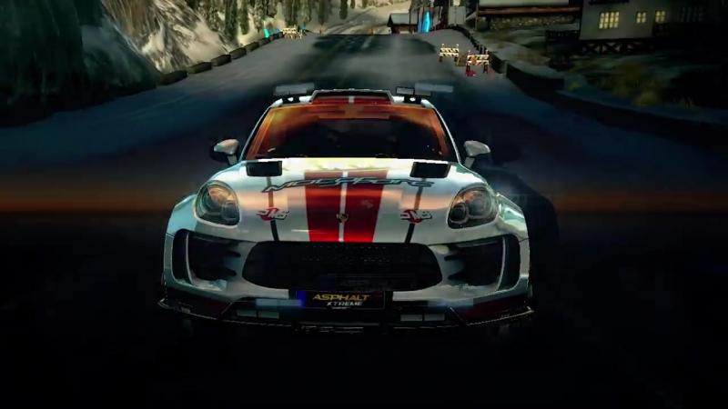 Трейлер обновления Porsche для игры Asphalt Xtreme!!