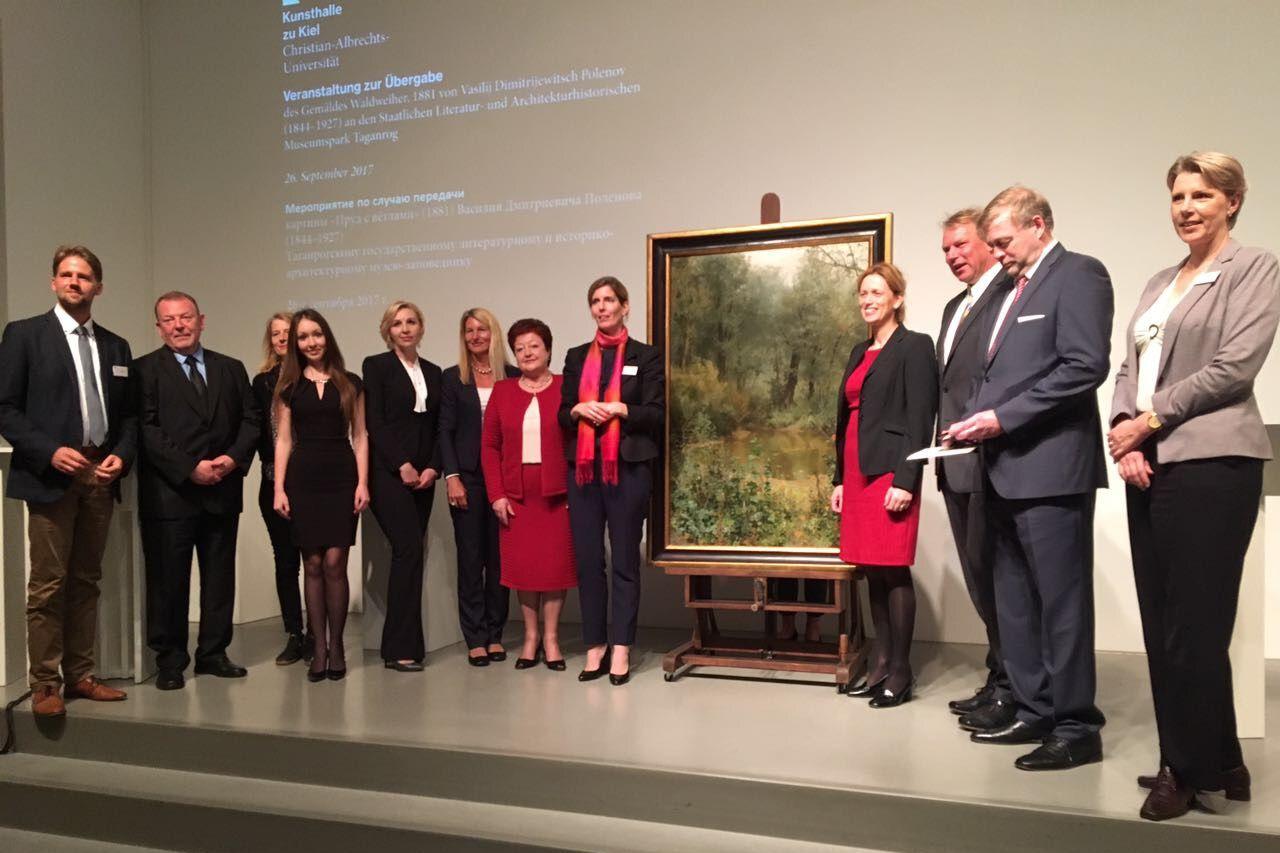 На родину Чехова вернется картина, утраченная во время Великой Отечественной войны