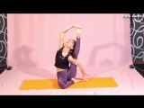 Flex-ladies Flexible girl yoga exercises YOGA POSES