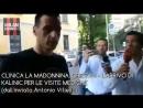 Калинич прибыл в клинику La Madonnina на медосмотр